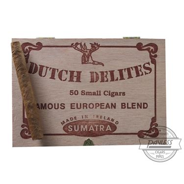 Dutch Delites Classic Sumatra Habano Cigarillo Cigar