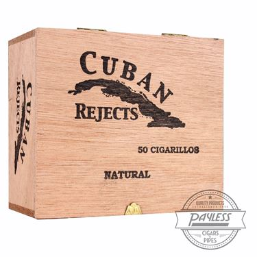 Cuban Rejects Cigarillos Box Closed
