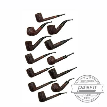 Rossi Sitting Pipes Assorted Shapes Sandblast 1 Pipe