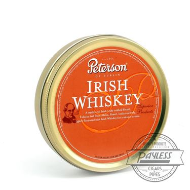 Peterson Irish Whiskey Tin