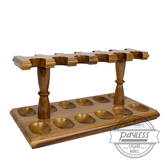 Woodmere 12 Rack Pipe Stand (Teak 220T)