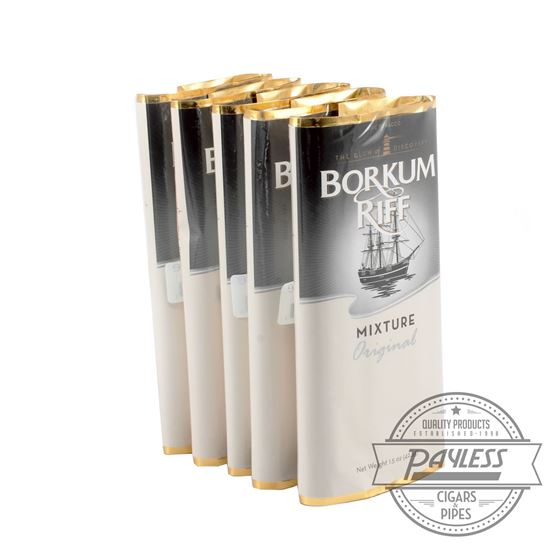 Borkum Riff Original 1.5Oz Pouches (Unit Of 5)