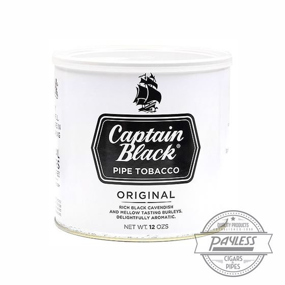 Captain Black White 12Oz Tin