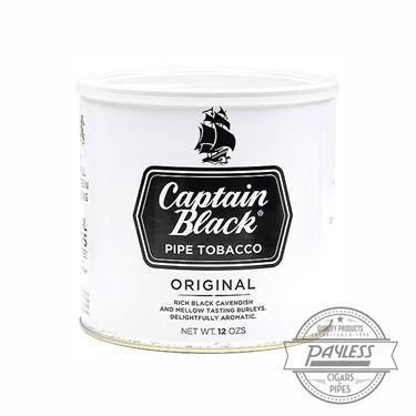 Captain Black White 12Oz Tin