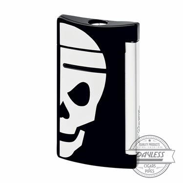 S.T. Dupont MiniJet Black/White Skull