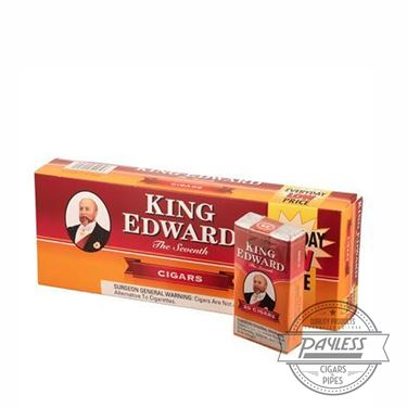 King Edward Little Cigar Carton (10 packs of 20)