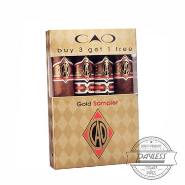 CAO Gold Robusto Sampler (4-pack)