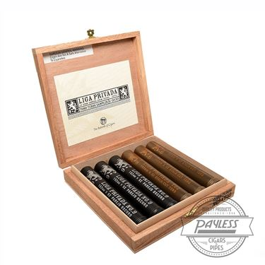 Drew Estate Liga Privada Toro Tubo Sampler