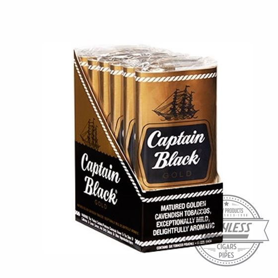 Captain Black Gold 1.5Oz Pouches (6-Pk)