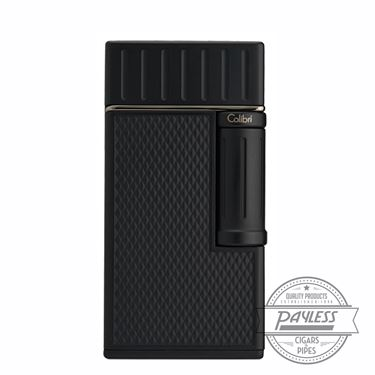 Colibri Julius Classic Double-Flame Flint Cigar Lighter Black (LI221C1)