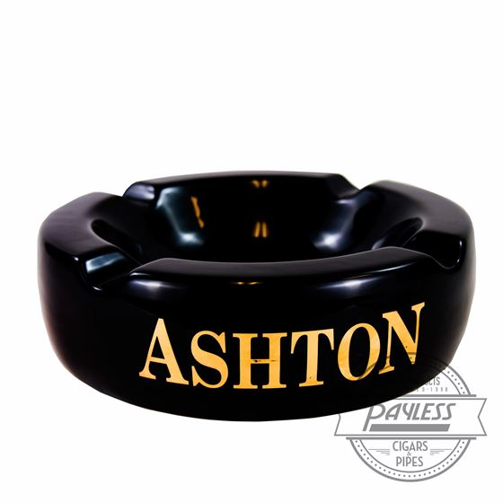 Ashton Black Ashtray