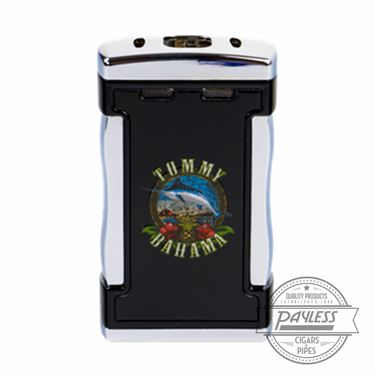 Tommy Bahama Cigar Band Table-Top Lighter