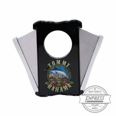 Tommy Bahama Cigar Band Cutter With Tin Box