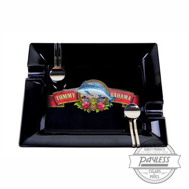 Tommy Bahama Cigar Band Indoor/Outdoor Ashtray