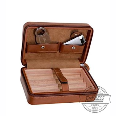 Tommy Bahama Overnighter 4 Cigar Travel Case