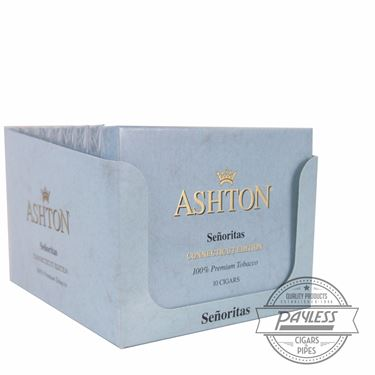 Ashton Small Cigars Connecticut Senoritas (10 packs of 10)