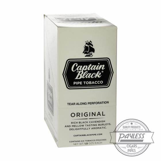 Captain Black White 1.5Oz Pouches (6-Pk)