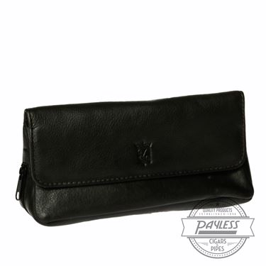 Chacom Leather Combo Pouch Dark Brown - 3B