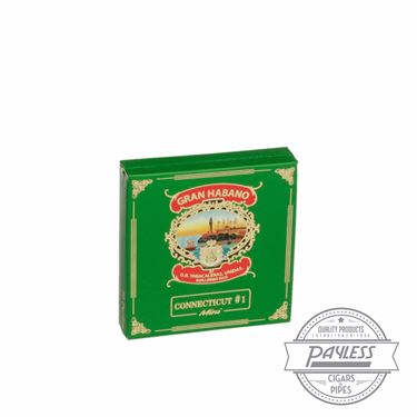 Gran Habano Connecticut #1 Minis (5 packs of 20)