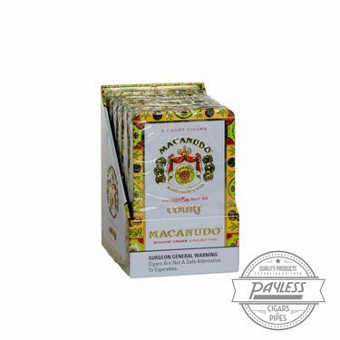 Macanudo Cafe Court Tubes (6 packs of 5)
