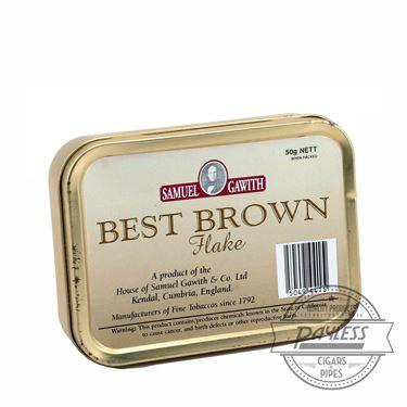 Samuel Gawith Best Brown Flake Tin