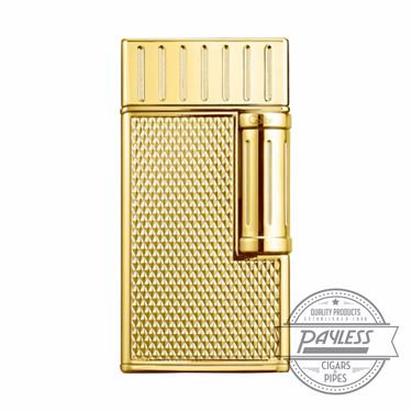 Colibri Julius Classic Double-Flame Flint Cigar Lighter Gold (LI221C10)