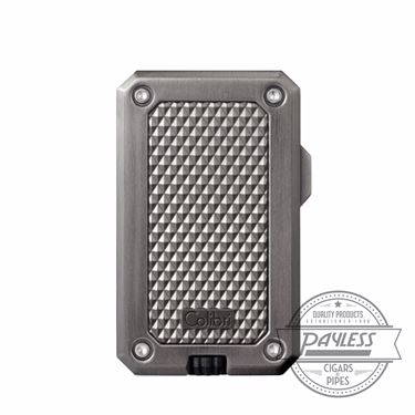 Colibri Rally Single Jet Flame Cigar Lighter Gunmetal (LI360T3)