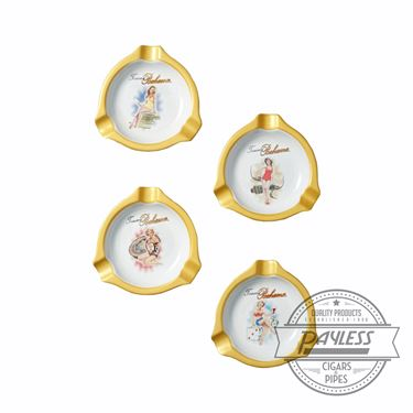Tommy Bahama Lady Luck Mini Ashtray (Set of 4)