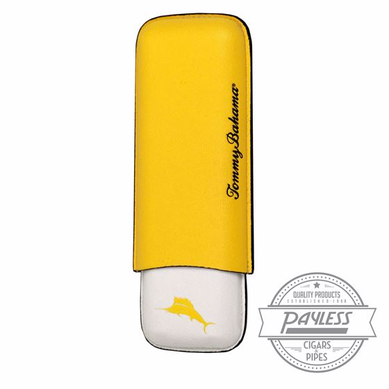 Tommy Bahama Regatta Cigar Case - Yellow