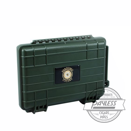 Perdomo Travel Case 5-Ct - Green (VC05Grn)