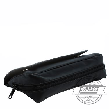 Peterson 2 Pipe Leather Combo Pouch
