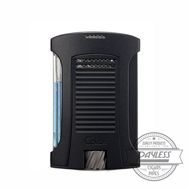 Colibri Daytona Single-Jet Flame Lighter Black & Black (LI770T1)
