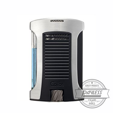 Colibri Daytona Single-Jet Flame Lighter Chrome & Black (LI770T3)