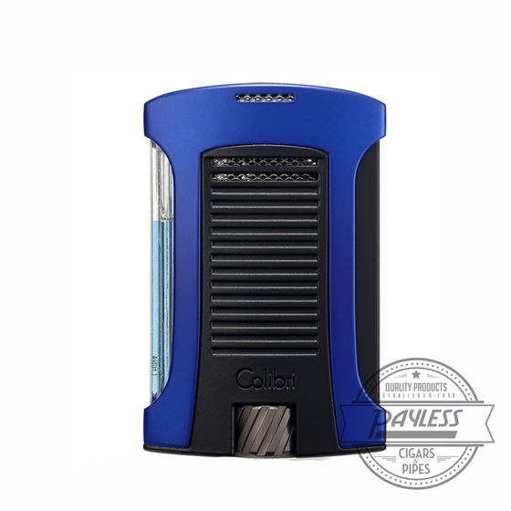Colibri Daytona Single-Jet Flame Lighter Blue & Black (LI770T5)