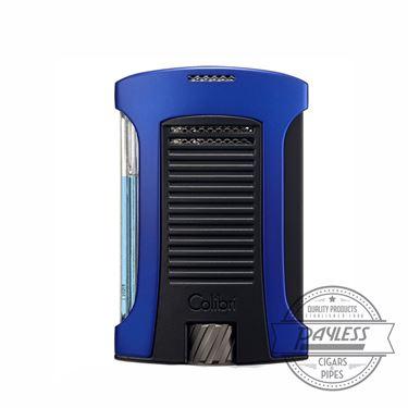 Colibri Daytona Single-Jet Flame Lighter Blue & Black (LI770T5)