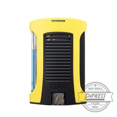 Colibri Daytona Single-Jet Flame Lighter Yellow & Black (LI770T7)