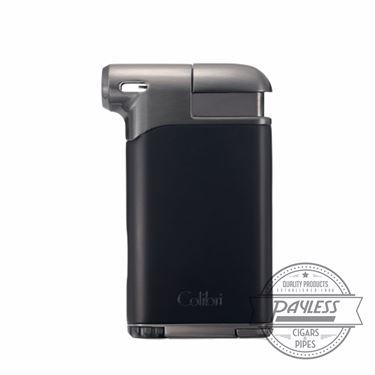Colibri Pacific Air Pipe Flame Lighter - Black/Gunmetal (LI400C7)