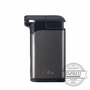 Colibri Pacific Air Pipe Flame Lighter - Gunmetal/Black (LI400C8)