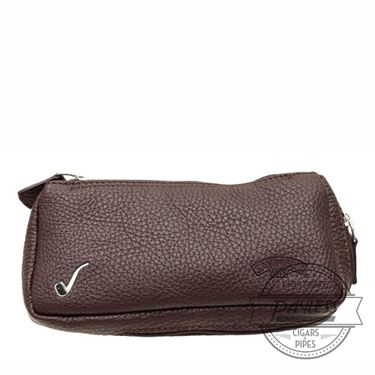 Savinelli Nappa 1 Pipe Tobacco Pouch - Brown