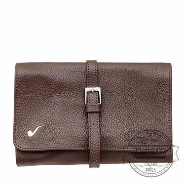 Savinelli Travel Bag 4P - Brown