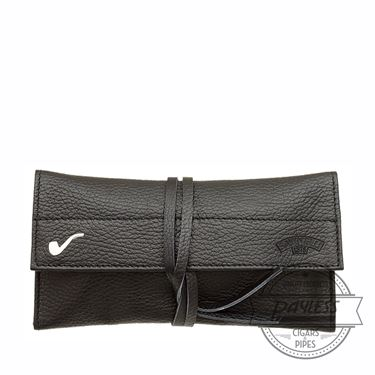 Savinelli Roll-up Pipe Pouch - Black