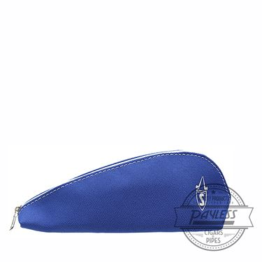 Savinelli Cloth 1 Pipe Pouch - Light Blue