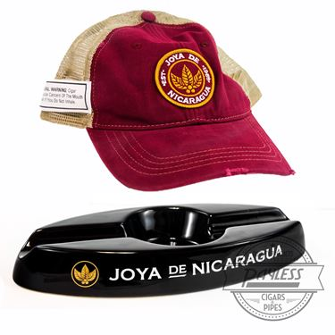 Joya de Nicaragua Hat and Ashtray