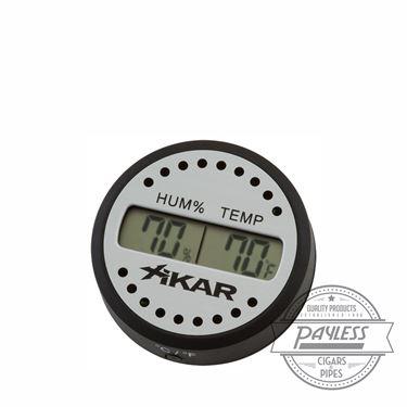 Xikar PuroTemp Round Digital Hygrometer (832Xi)