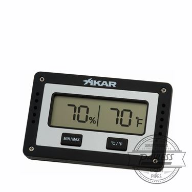 Xikar PuroTemp Rectangular Digital Hygrometer (833Xi)