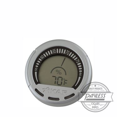 Xikar PuroTemp Digital Gauge Hygrometer (834Xi)