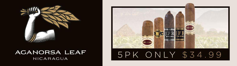 AGANORSA 5-PACK SAMPLER $34.99