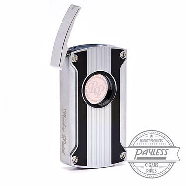 Rocky Patel Laser Lighter Silver Tux