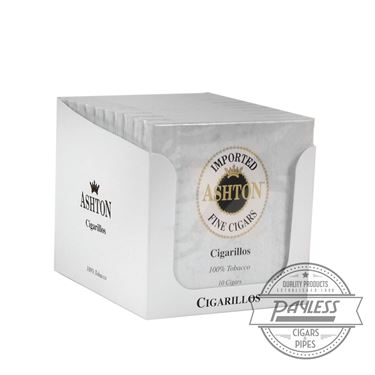 Ashton Small Cigars Cigarillos (10 packs of 10)