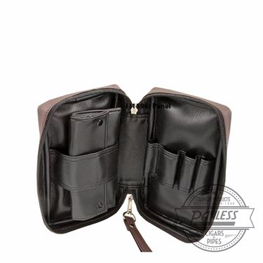 Castleford 4 Pipe Combo Pouch Black
